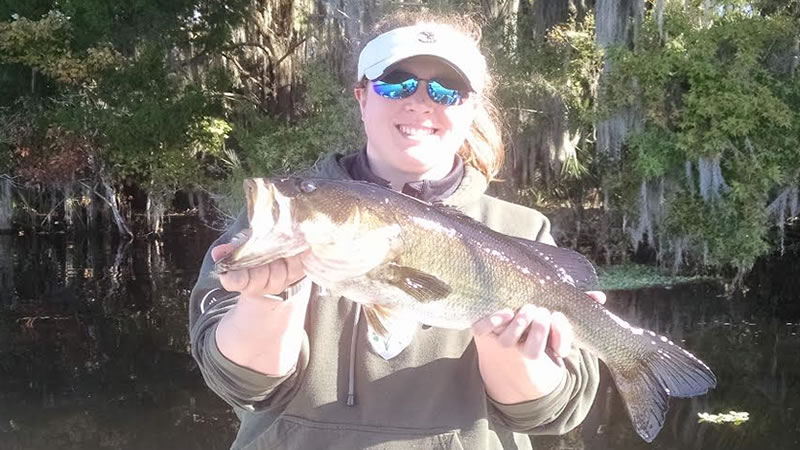 First Time Bass Fishing On The St Johns River